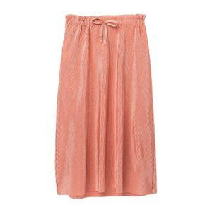 Love, Fire Girls Pink Pleated Mid-Length Skirt XL